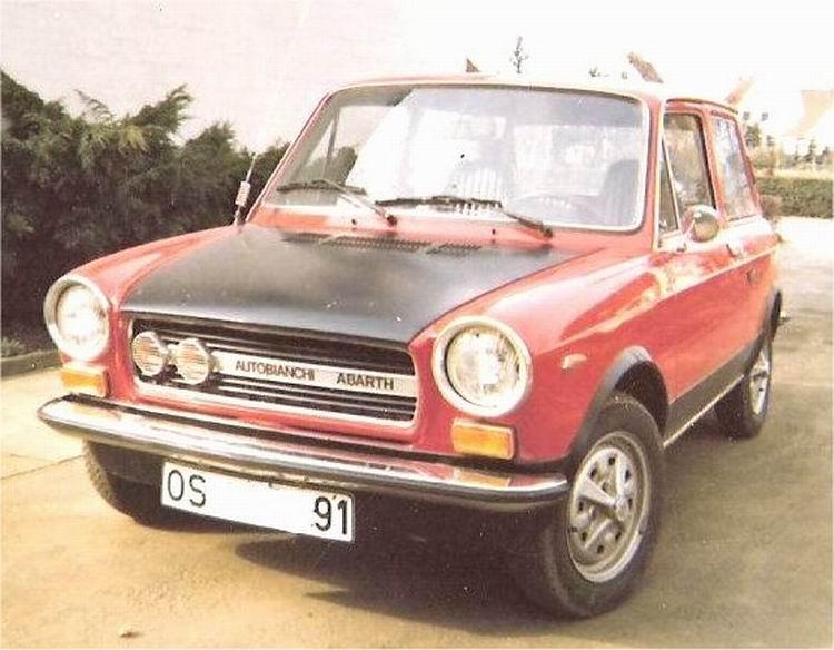 1971-85 Abarth Autobianchi A112