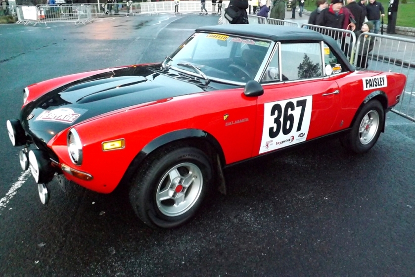 1972-75 Fiat Abarth 124 Spider
