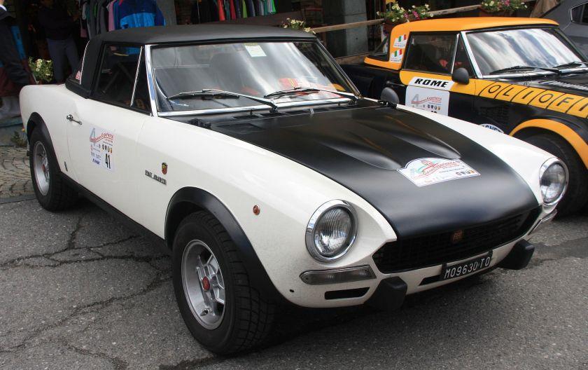 1972 Fiat Abarth 124 Rally