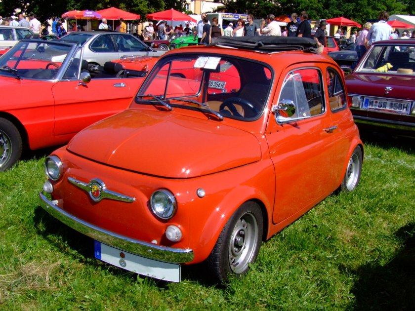 1973 Abarth-Fiat 500
