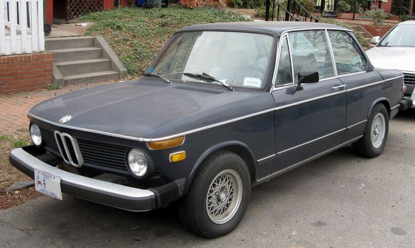 1974-76 BMW 2002 2-door USA