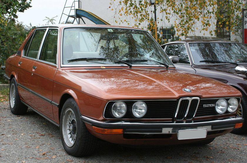 1976-81 BMW-E12-Front