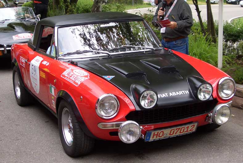 1976 Abarth Fiat 124 rally