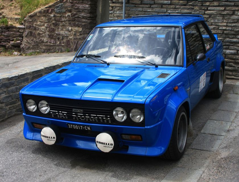 1976 Fiat Abarth 131 Rally