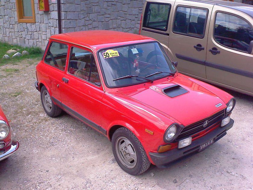 1977 Autobianchi A112 Abarth mk4