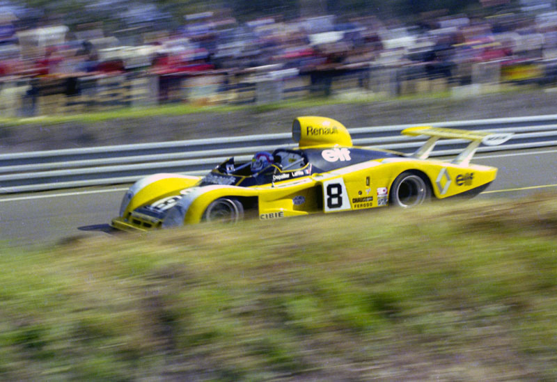 1977 Renault Alpine A442 at LeMans 24 hours 1977