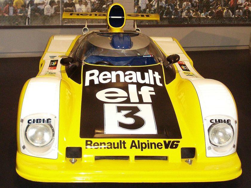 1978 Cité de l'Automobile Renault Alpine A442B 1
