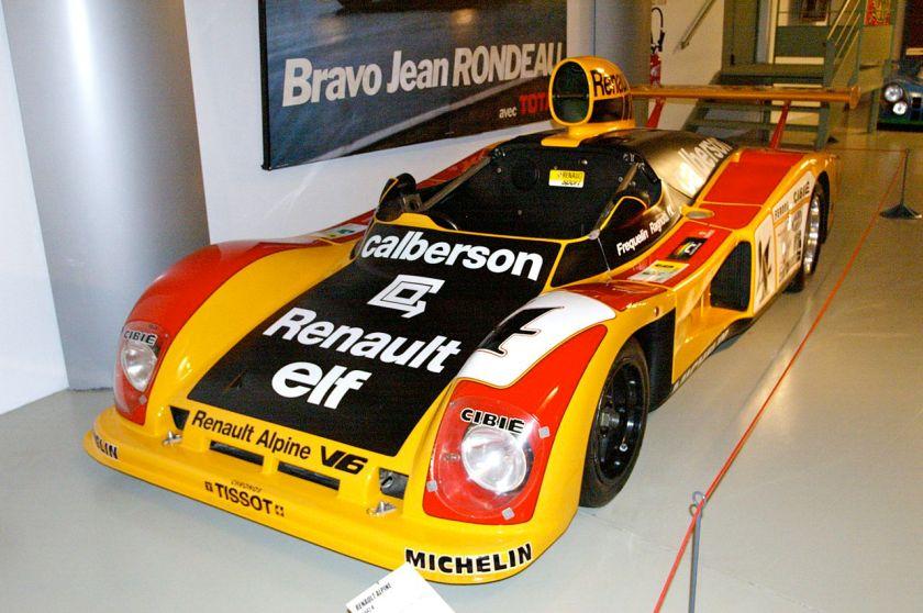 1978 Le Mans Renault Alpine A442