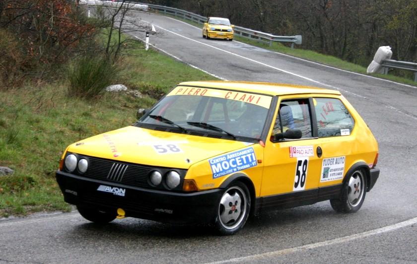 1982-88 Fiat Ritmo Abarth 130 TC