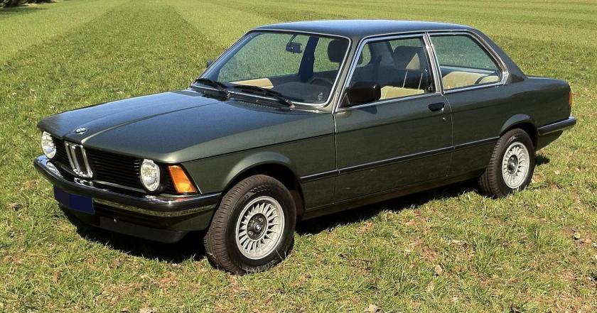 1982 BMW e21 316
