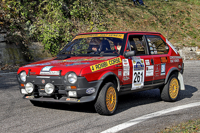 1982 Fiat Ritmo 138A2 105TC Abarth group A