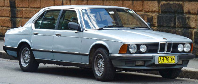 1983–1986 BMW 735i (Australia)