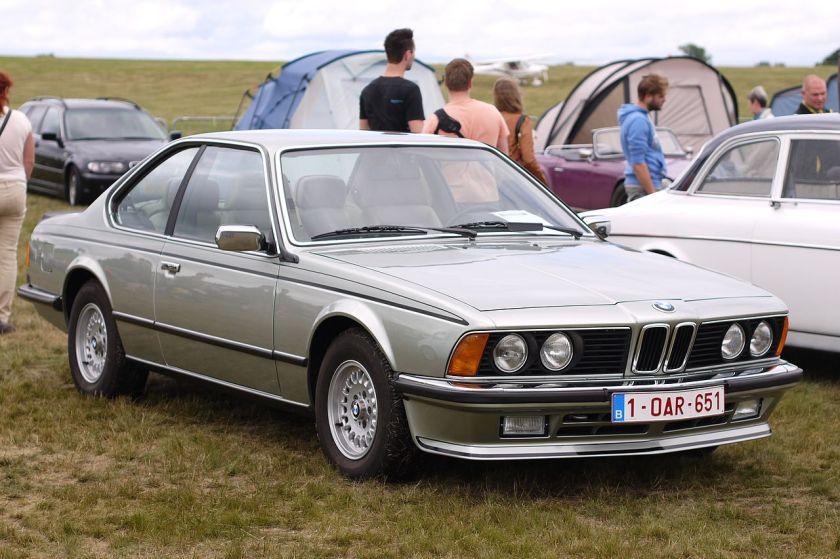 1984-86 BMW 635 Csi E24
