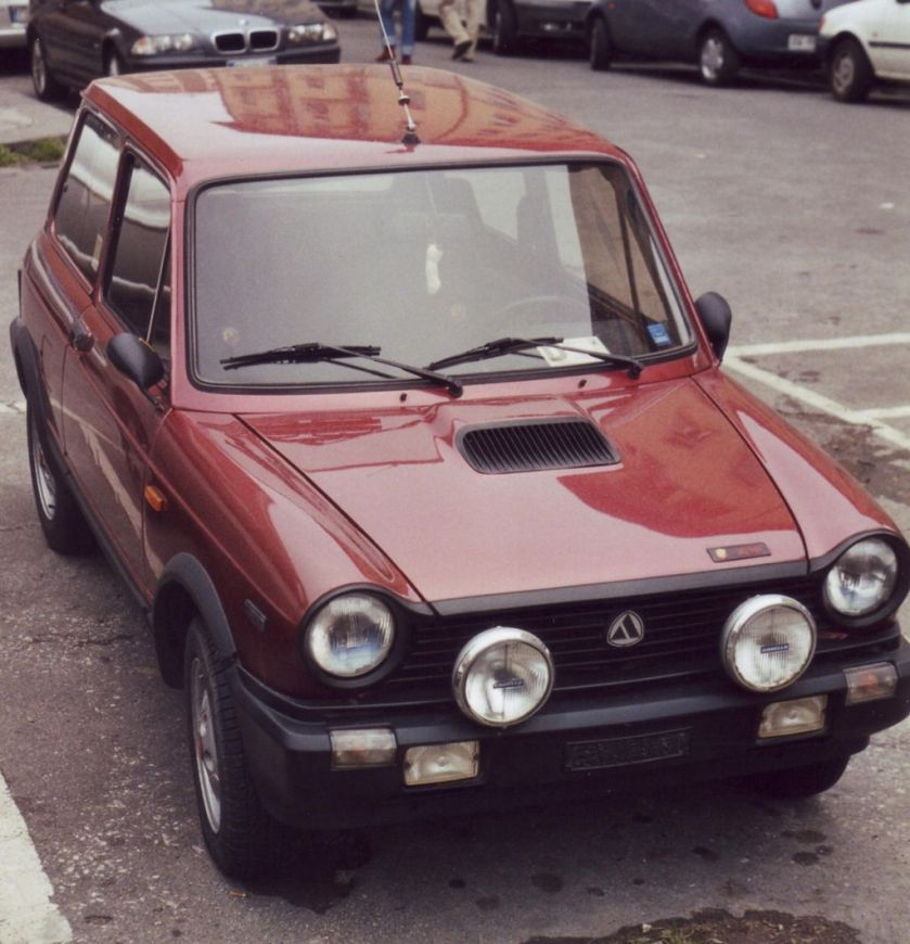 1984 Autobianchi A112 Abarth 70HP