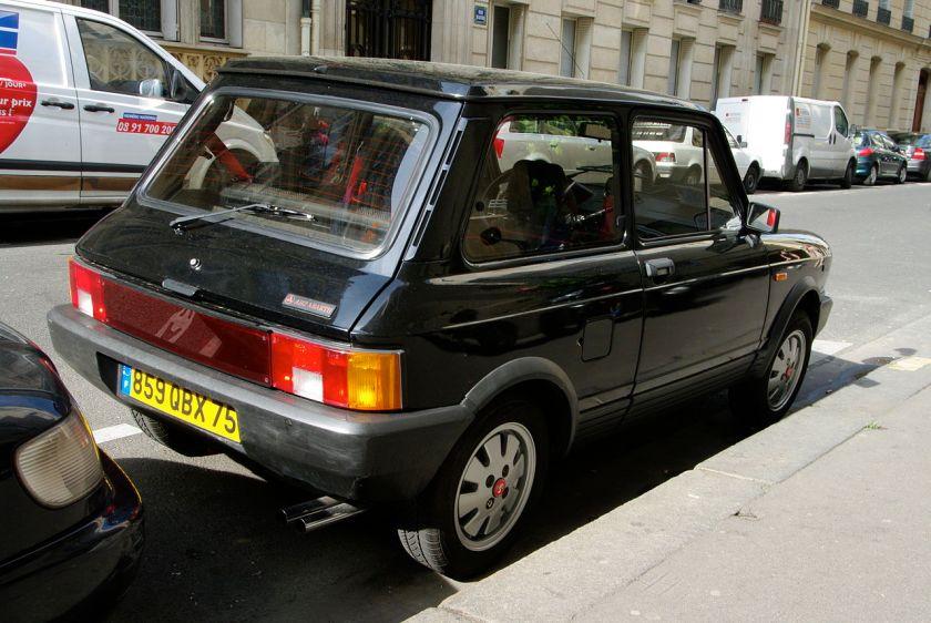1984 Autobianchi A112 Abarth 7ª serie del 1984