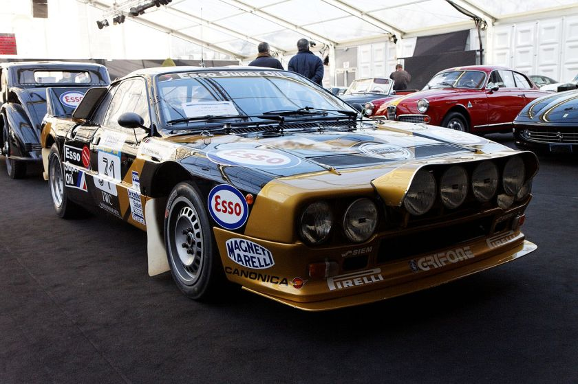 1985 Lancia 37 Abarth Groupe B EVO 2
