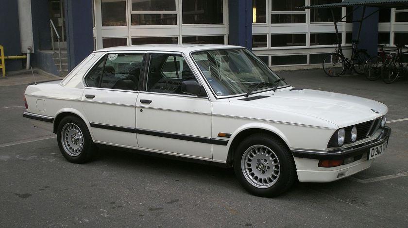 1987 BMW 520i LUX