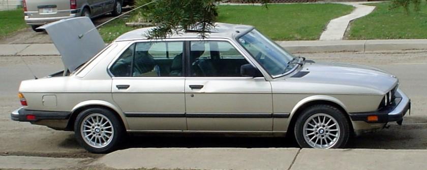 1988 BMW 528 E28 ea1