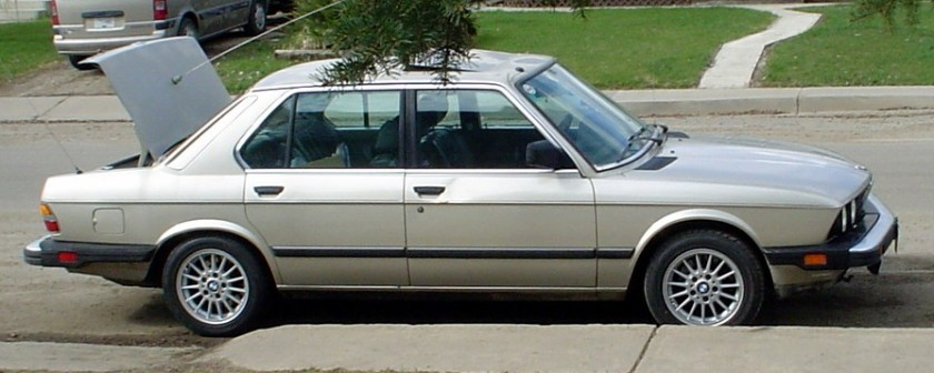1988 BMW 528ea1 E28 USA