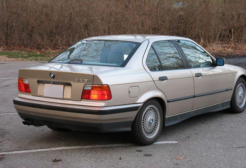 1993 Bmw e36 325i rear