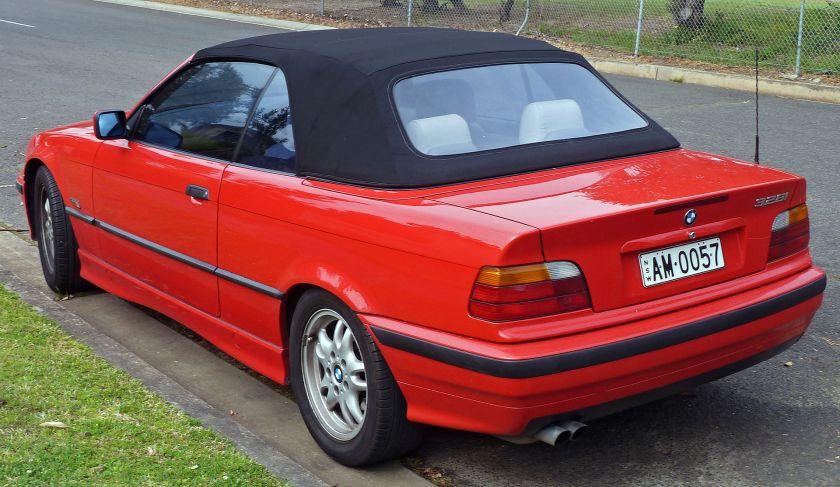 1995-1996 BMW 328i (E36) convertible 02