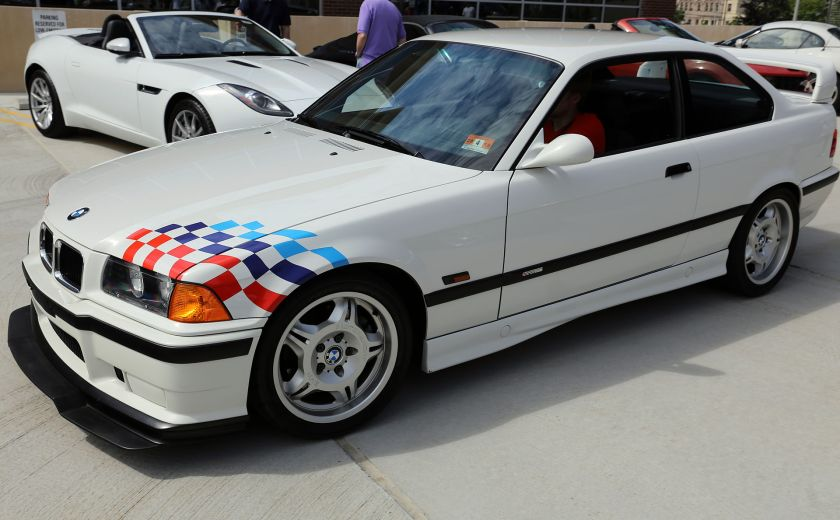 1995 BMW M3 Lightweight front