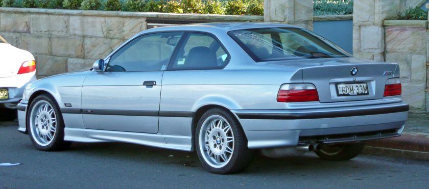 1995–1999 BMW M3 (E36) coupe (Australia)