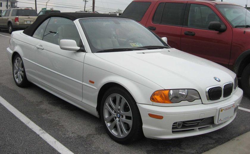 1998-01 BMW E46 convertible