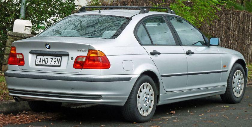 1998-2001 BMW 318i (E46) sedan
