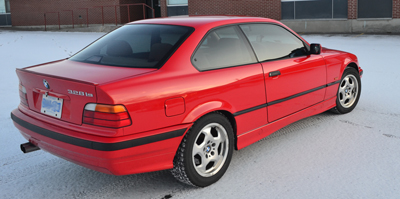 1999 BMW e36 329iS coupe