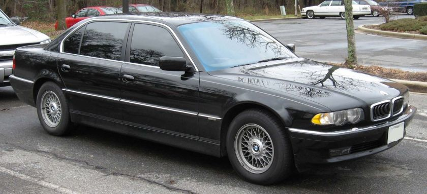 2001 BMW E38 740iL (Facelifted) (US)