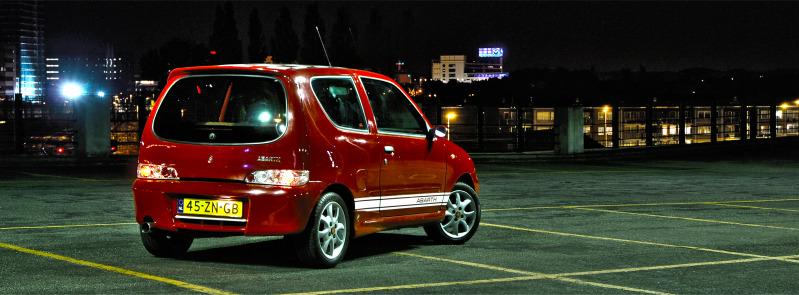 2001 Fiat Seicento Sporting Abarth 1.1Sa