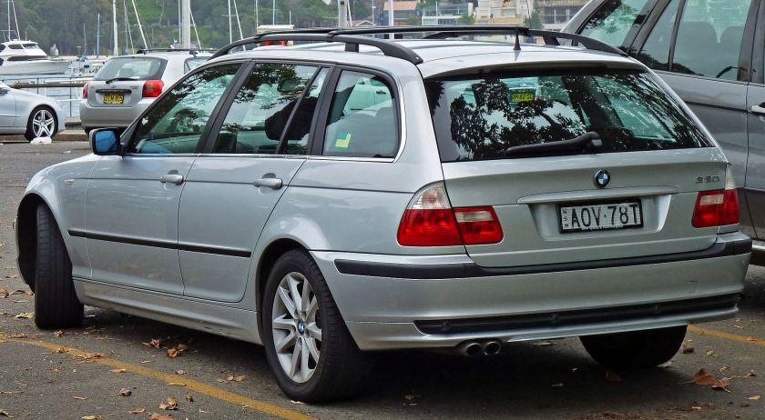 2002-05 BMW 320i (E46) Touring