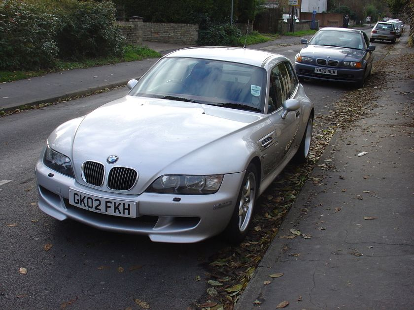 2002 Bmw Z3M coupe front