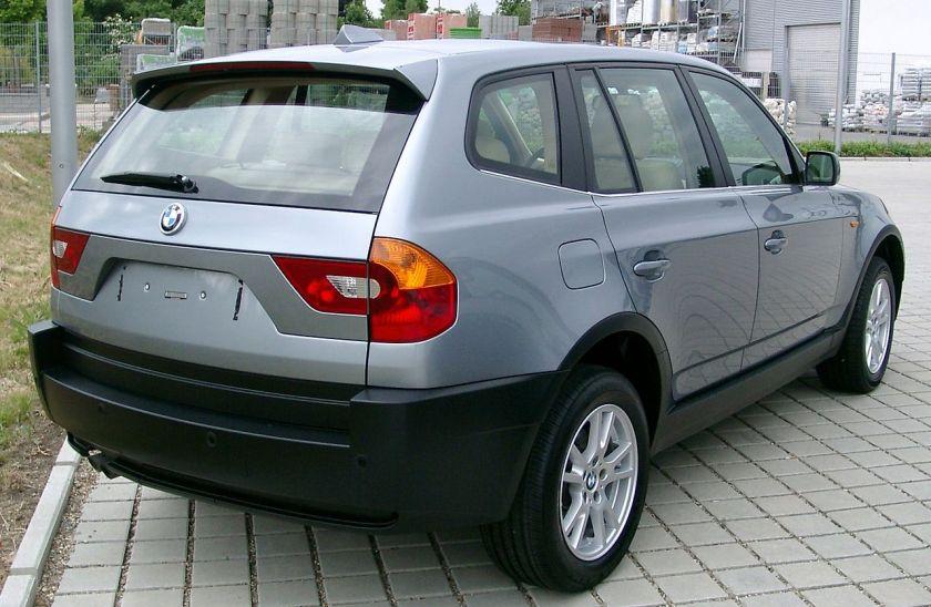 2003-06 BMW X3 rear