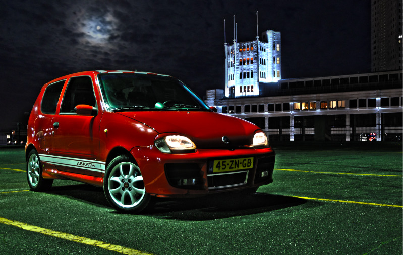 2003 Fiat Seicento Sporting Abarth 1.1Ss