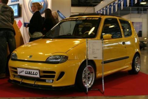 2003 Fiat Seicento Sporting Abarth c