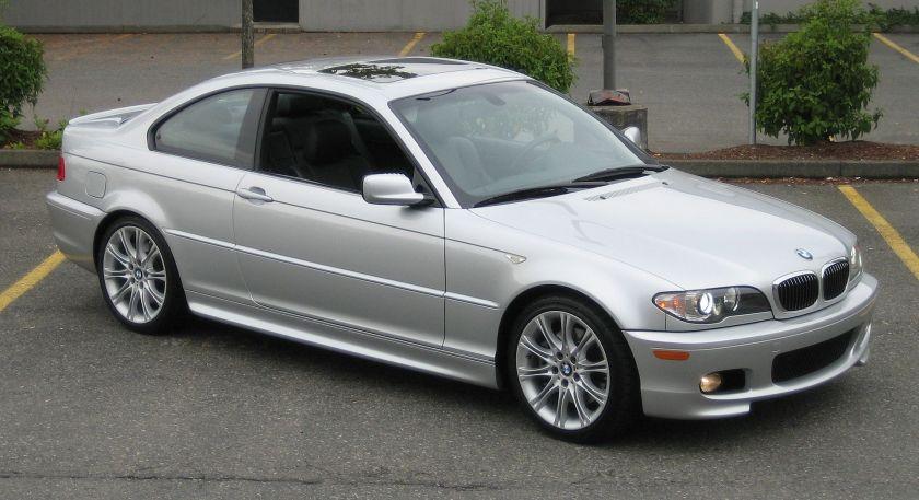 2005 BMW 330Ci ZHP Silver E46