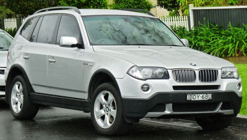 2006-08 BMW X3 (E83) 2.5si wagon 01