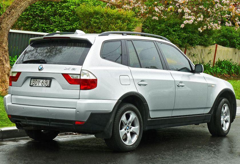 2006-08 BMW X3 (E83) 2.5si wagon Australia