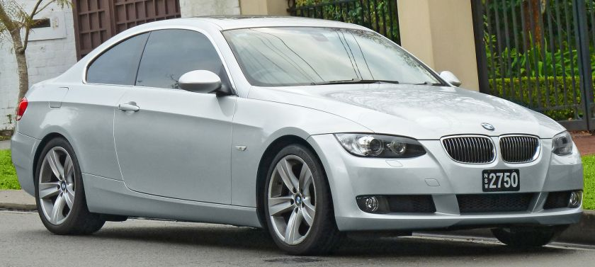 2006-10 BMW 325i (E92) coupe 01