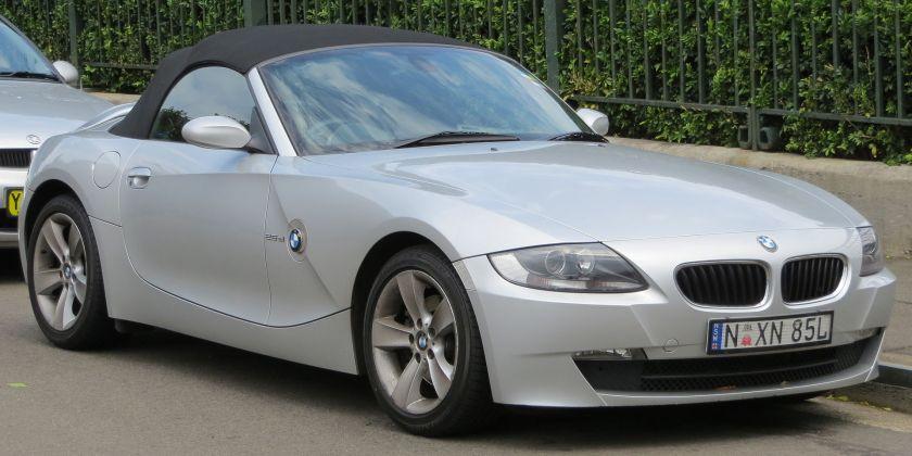 2006 BMW Z4 (E85) 2.5si convertible 01