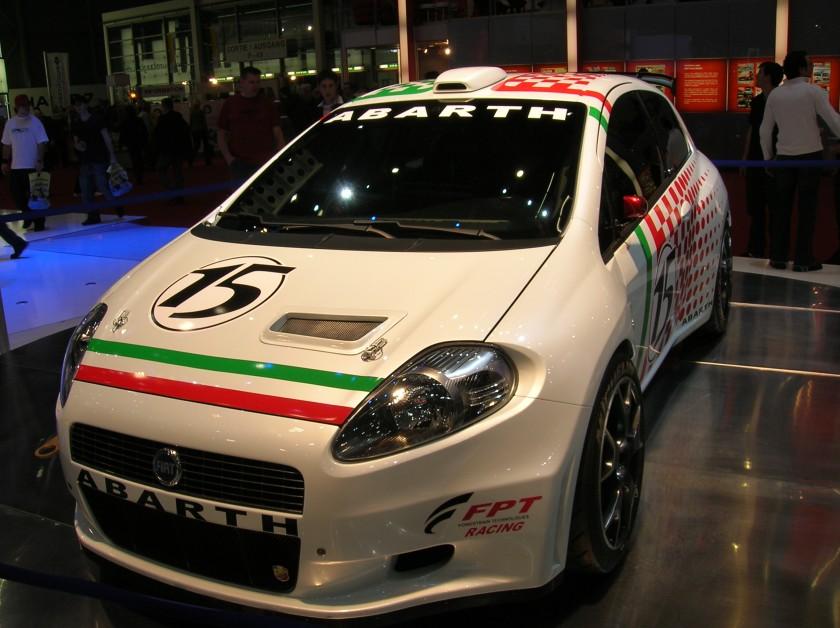2006 Fiat Grande Punto Abarth S2000 Rally