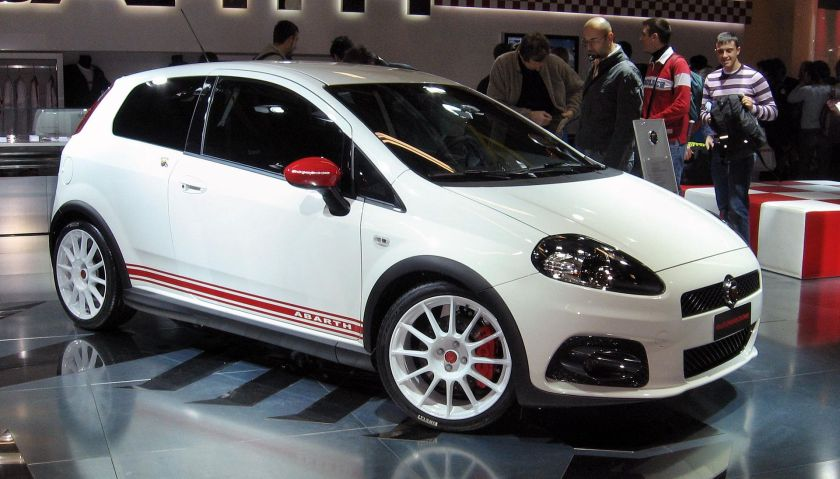 2007-10 Abarth Grande Punto Essesse