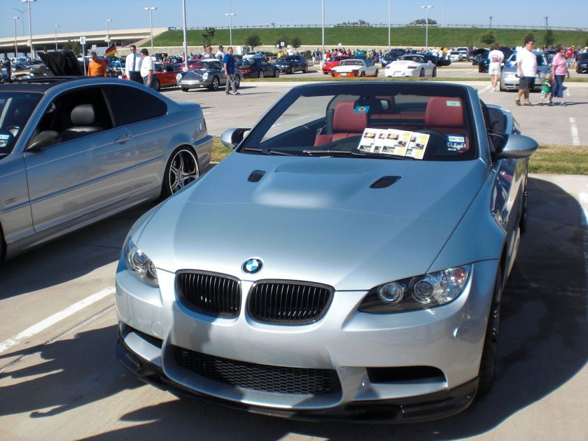 2007-2008 BMW M3 (E93) convertible (United States)