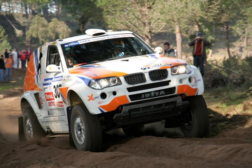 2007 BMW X3 CC Jutta Kleinschmidt Dakar