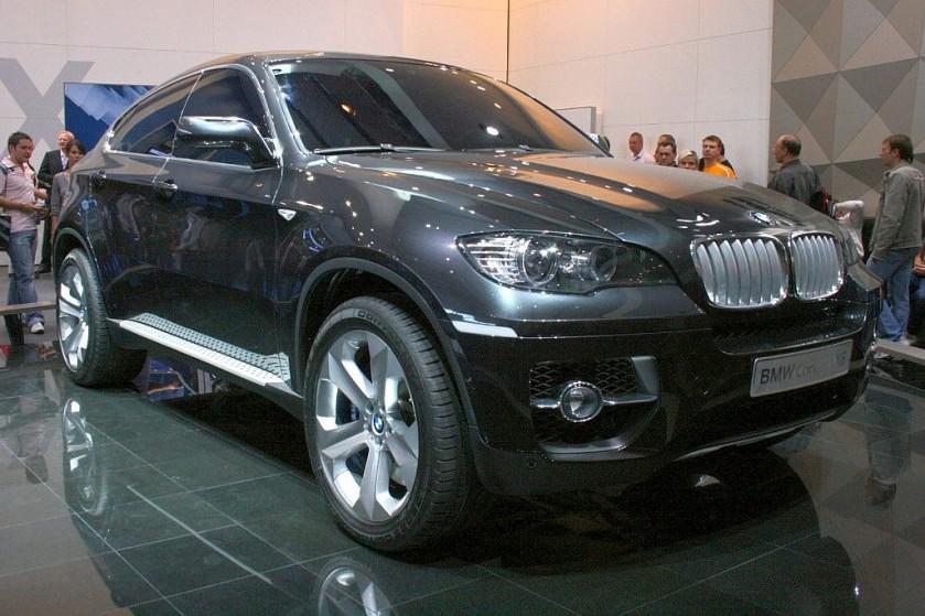 2007 BMW X6 concept