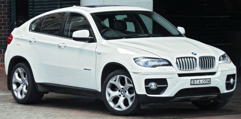 2008-10 BMW X6 (E71) xDrive35d wagon
