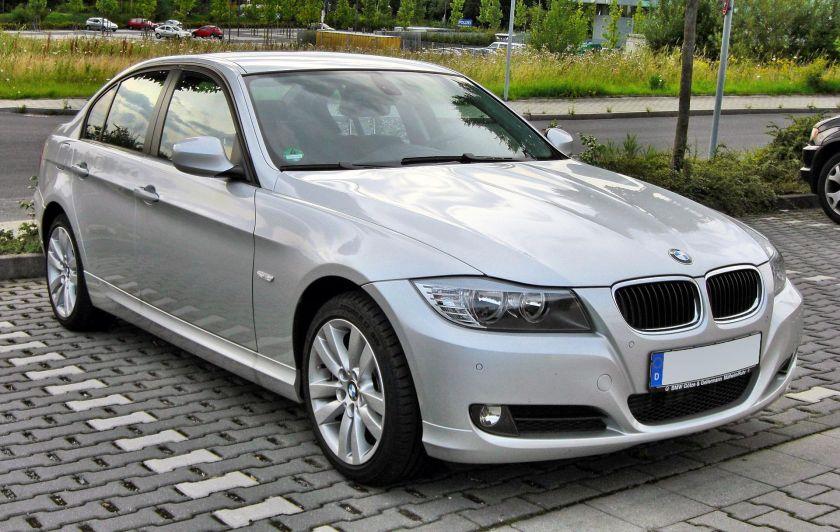 2008 BMW 3er (E90) Facelift front