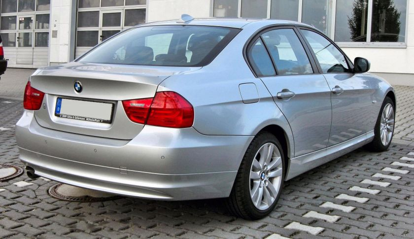 2008 BMW 3er (E90) Facelift rear